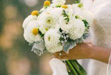 C + J / Wedding flowers by The English Garden for the C & J wedding. October, 2014 at Diablo Dormido.