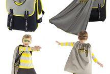 Superhero Backpacks for Boys