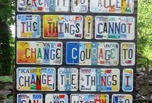 Creative : License Plates..