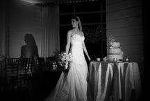 Film noir wedding photography / The 1940's style photography for the modern bride