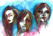 MirażIllustrations / My artwork for my MirazIllustrations