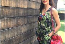 Shilpa Reddy printed jump suit / dress