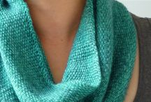Knittingstuff-Scarves & Cowls / Patterns for scarves and cowls. / by Eileen Myers