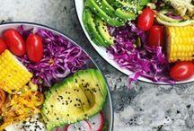 Food: Buddha Bowls / Recipes for Buddah Bowls