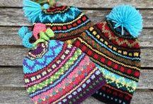 в - шапки, шарфы, шали