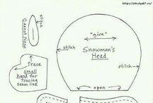 sněhulák, vánoce