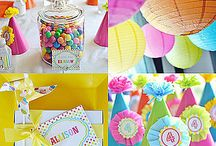 Party Planning Ideas  / Cute Ideas for all different parties!  / by Danielle Fernandez