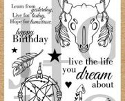 Live the Life You Dream About with JessicaLynnOriginal / Order the stamp set on our website: https://www.jessicalynnoriginal.com/jessicalynnoriginal-live-the-life-you-dream-about-spirit-animal-clear-stamp-set/