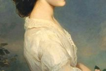 Franz Xaver Winterhalter / (1805-1873) German painter and lithographer, known for his portraits of royalty in the mid-nineteenth century
