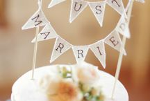 Fun cake toppers / by Wild Basin Weddings