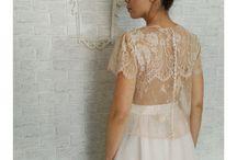 unconventional wedding dress by LA DI DA