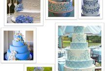 Pasteles de novios, tortas de boda, wedding cakes / Pienso que son bellísimos, románticos, deliciosos y, además, existen verdaderos artistas en su creación / by Ximena María Muratsuka