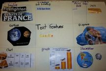 Text features / by Monica