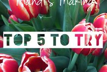 Top 5 to Try / Each post has 5 great recipe links to other blogs, each one is a firm favourite in the MM household.