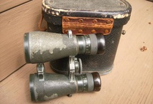 Vintage Binoculars (Emil Busch Fernglas 08) / Vintage Binoculars pictures Emil Busch Fernglas 08