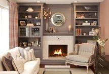 fireplace mantels / by Jimi Mirsberger