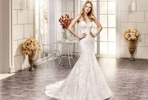 Eddy K. 2016 ADK Collection / Exquisitely elegant. A collection that emphasizes on exquisite and elegant lace dresses that highlight the feminine silhouette.    / by Eddy K Bridal