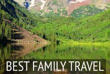Travel // Family Travel / Where, when and how to pack up the kids and go globetrotting.