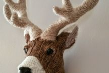 Crochet Taxidermy / The only way Taxidermy should be allowed! Crochet Taxidermy is the best!