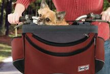 Dog Bicycling Safety / Here's the products you need to safely bicycle with your best pal.