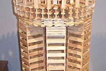 World of Planks / Самые интересные фото удивительных построек, которые Вы сможете собрать из деревянных дощечек и планок