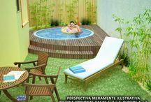 piscinas pequenas com hidromassagem