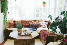 Boho chic interior ideas