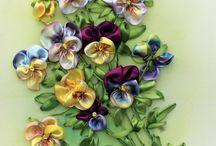 flori brodate