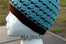 Pretty Hats, Crochet/Knit