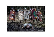 Legio XXI Bloody Battles / Legio XXI Rapax legionaries in fight