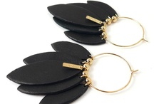 Inner tube earrings