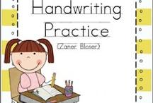Handwriting  / by Brittany Hauppa