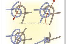 Knots / 파라코드로 만들수있는 매듭