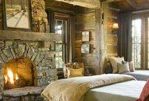.:Rustic Bedroom:. / by Katie M. Frank