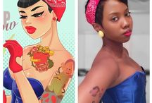 Pin up Halloween / Be chic this Halloween with these pin up inspired looks.