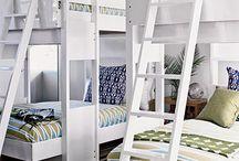 Beachy bunk rooms