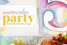Party {watercolor}
