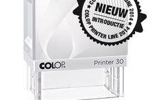 Nieuwe Stempel Colop 2014 / Nieuwe stempel revolutie. Printer Line van Colop 2014. Binnenkort verkrijgbaar. Introductie en een preview van de eerste exemplaren.