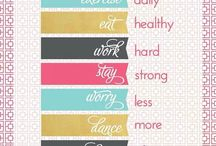 Healthy New Years Resolutions and Tips / Ideas about how to LiveWell in the New Year