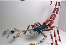 elektronik part toy