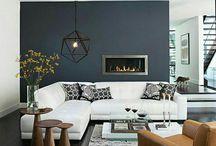Дом цвета интерьера