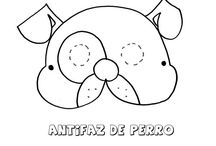 Antifaces de animales