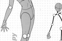 Corpo, busto, quadril, etc - Anime / Imagens que ajudam a desenhar personagem