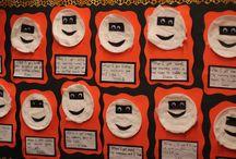 1st grade bulletin boards