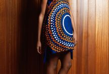 African Print in Woman's Fashion