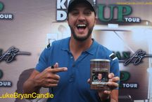 """Luke Bryan """"Kill The Lights"""" Candle & CD / Yankee Candle will be selling Luke Bryan's new ablum on 8/7 and you can also enter to win a Luke Bryan Candle!  / by Yankee Candle: Scented Candles 