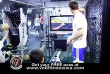 VOLT FITNESS - Kids Fitness Circuit / Multistation fitness circuit geared towards children combining video games and exercise.