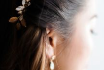 Some bridal hairpiece inspiration