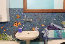 mozaika artystyczna / Obrazy wykonane z recznie cietych kawaleczkow ceramicznych