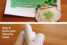 St. Patrick's Day / St. Patrick's Day - Party Ideas - Decor - Activities for Kids
